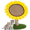 Sunflower Cat Scratching Tower