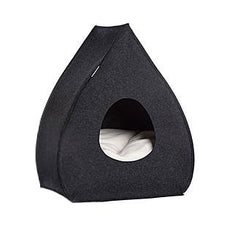 Anthracite Pina Wool Cat Cave