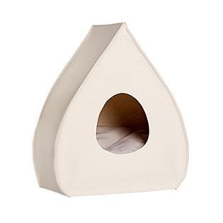 Cream Pina Wool Cat Cave