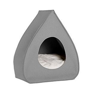 Light Grey Pina Wool Cat Cave