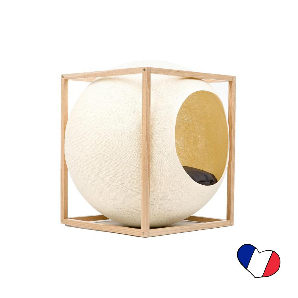 The Meyou Champagne Cube - Wood Edition
