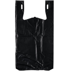 Black T-Shirt Bags - 280 Count