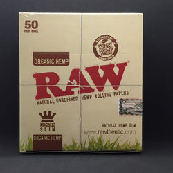 Raw® Classic Rolling Papers - King Size - Organic Hemp