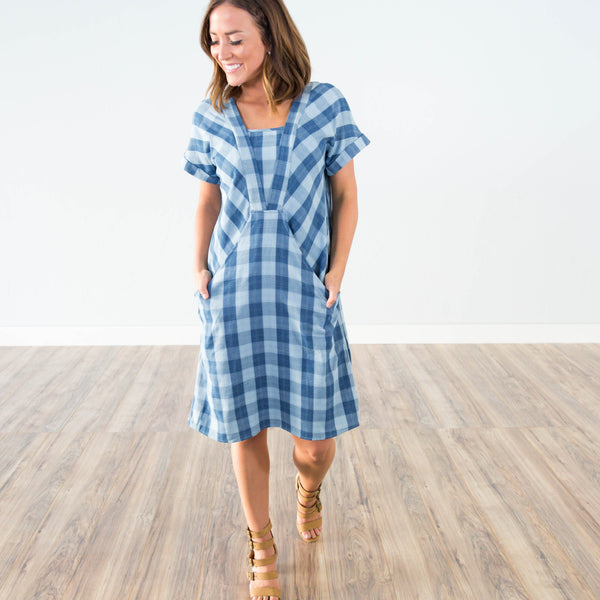 Manhattan Plaid Dress