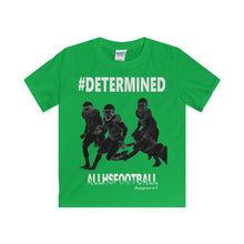 #DETERMINED Offensive T-Shirt (Youth-White text)