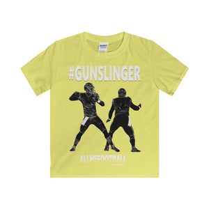 #GUNSLINGER Offensive T-Shirt (Youth-White text)