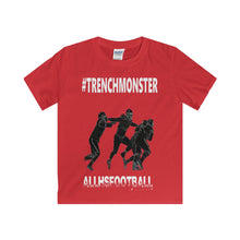 #TRENCHMONSTER Defensive T-Shirt (Youth-White Text)