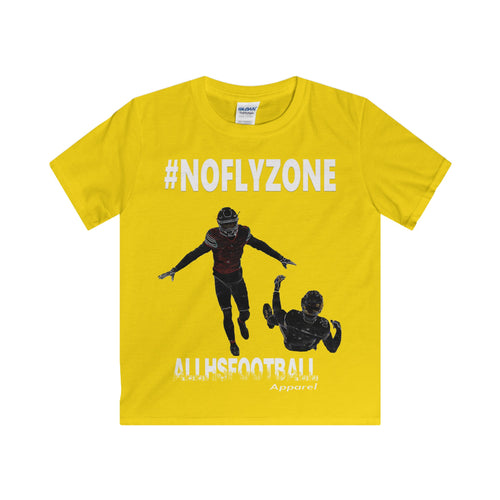#NOFLYZONE Defensive (Youth-White Text)