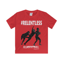 #RELENTLESS Defensive T-Shirt (Youth-White Text)