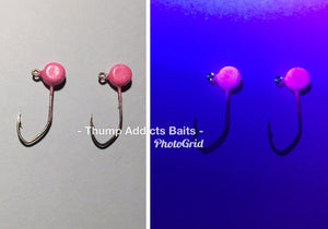 1/16 Painted Pill Head Jigs