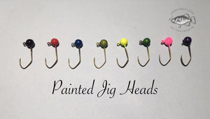 Painted Jig Heads