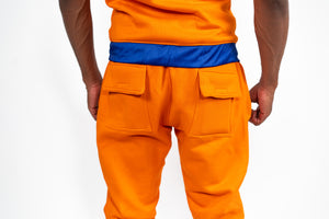 Dragon Ball Super Goku Inspired Sweat Suit; Camp Whis