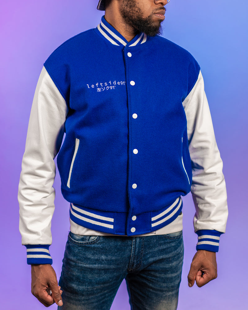 My Hero Academia: Two Heroes All Might Varsity Jacket Plus Ultra91