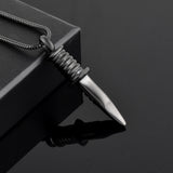 Attractive Knife Cremation Necklace
