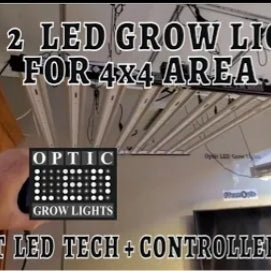 Top 2 LED Grow Lights for 4' x 4' or 5' x 5' area in 2020 (1.2M-1.5M)