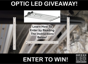 Only A Few Days Left To Enter Slim Series Led Grow Light GIVEAWAY