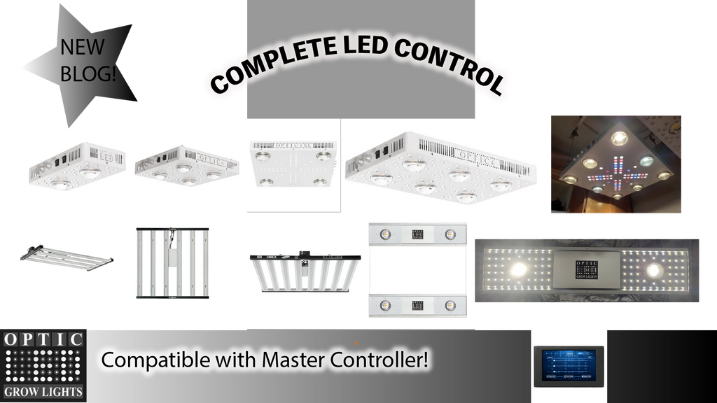 Complete Led Control for Smaller Growers