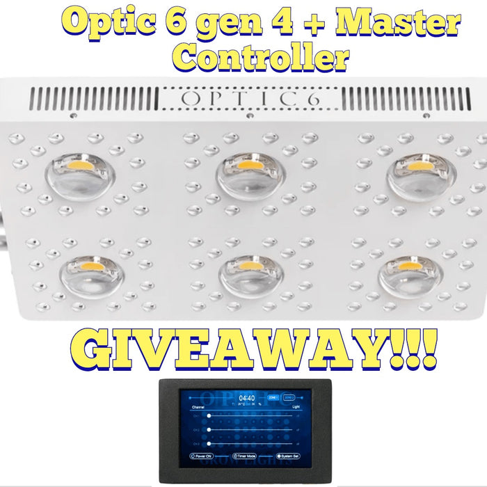 OPTIC 6 GEN 4 LED GIVEAWAY CONTEST ENDING SOON!!!