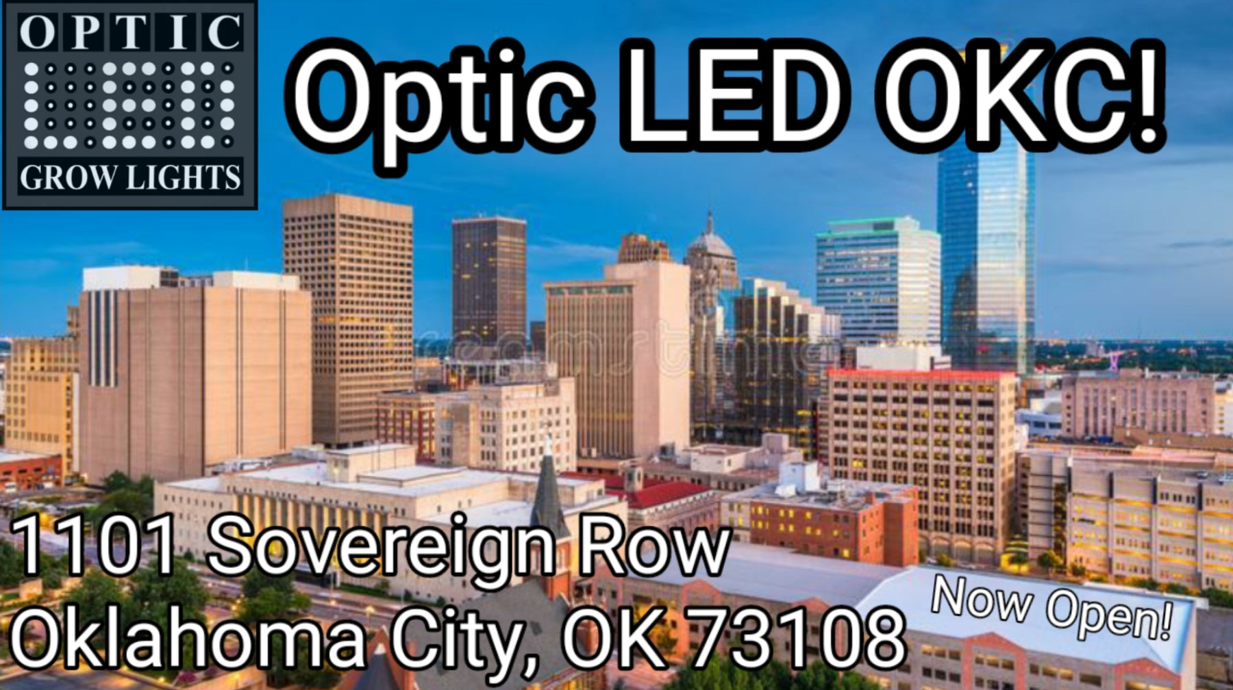 Optic LED Oklahoma City Distribution Hub & Service Center - Now Open 10/1/2020