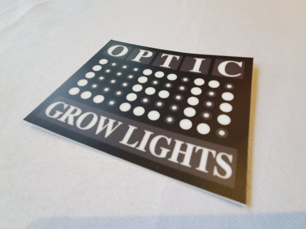 "Optic LED Brand Sticker - 4"" Sticker"