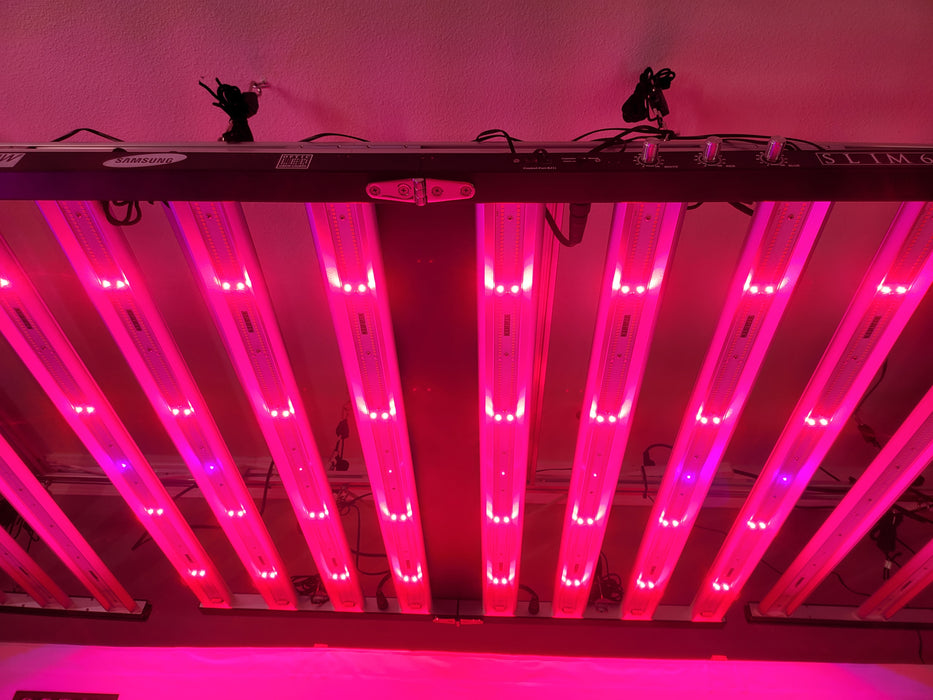 New! Slim 650S - Dimmable LED Grow Light - 650w (120 Degree) 3500K (UV/IR) LH351H