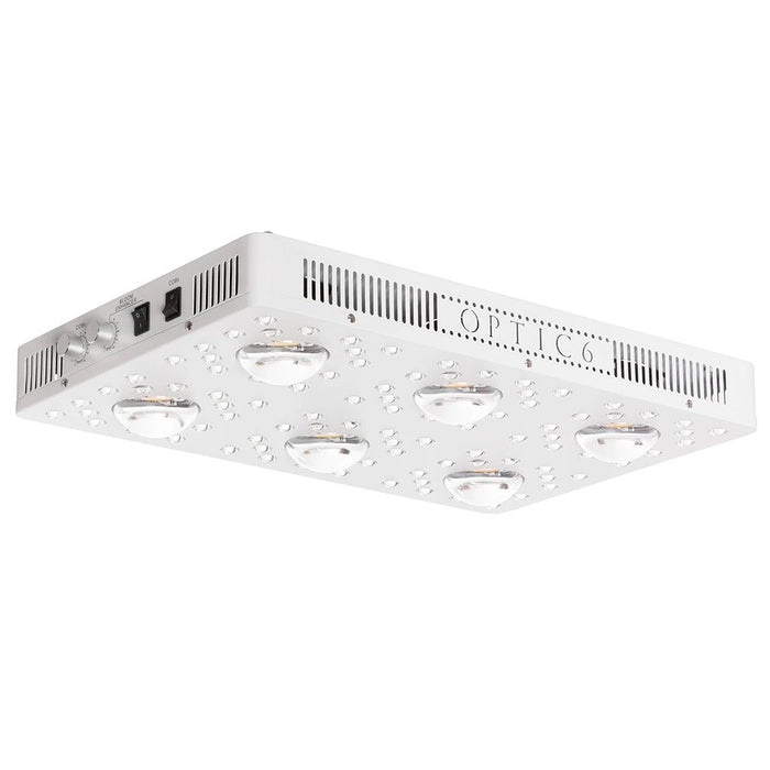 Optic 6 Gen4 Dimmable COB LED Grow Light 605w (UV/IR) 3000k & 5000k COBs