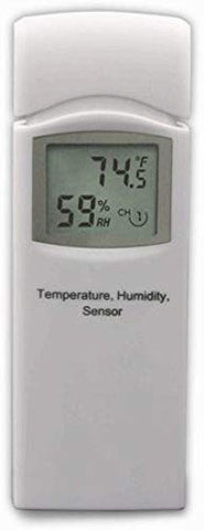 Wireless Environment Monitor - Ambient Weather - Temp + Humidity Multi Zone monitoring & Graphing + 5 Remote Sensors