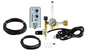 Titan Controls® CO2 Regulator Deluxe Kit with Timer
