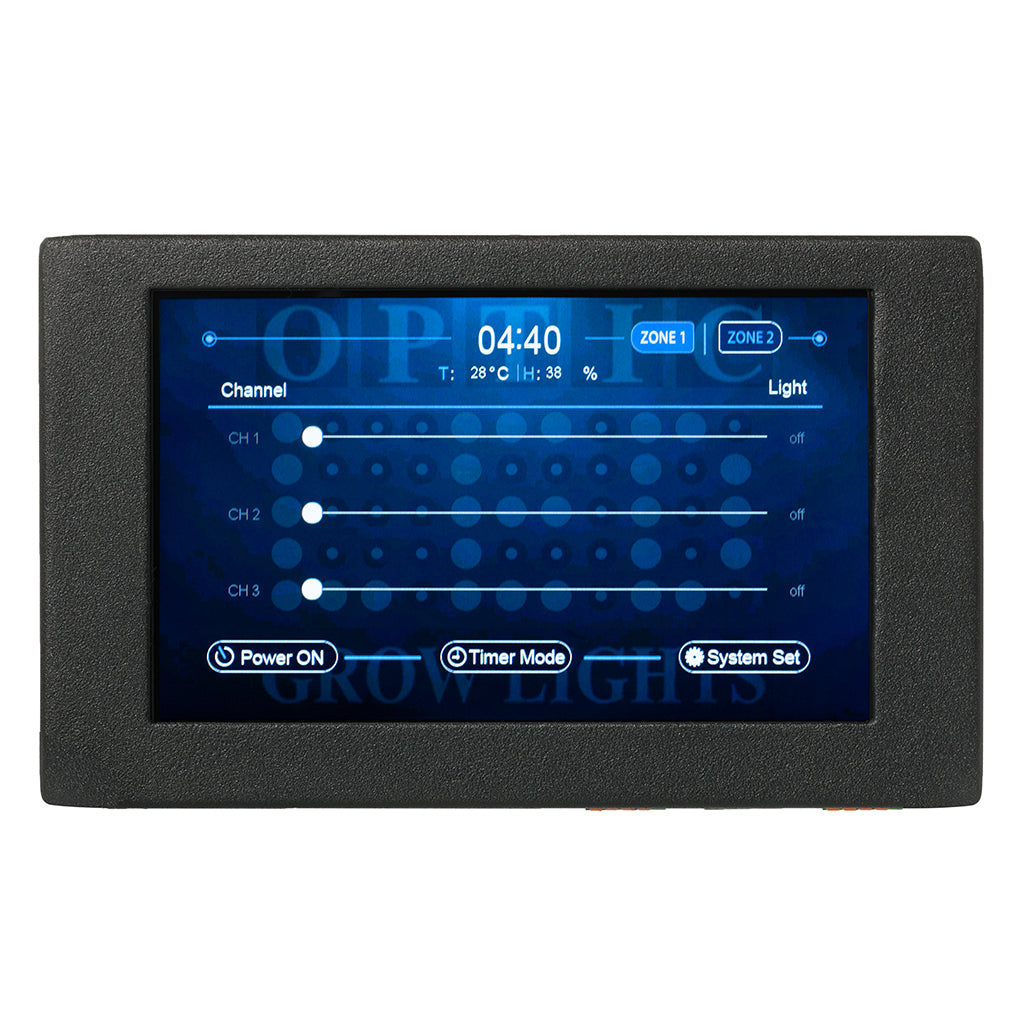 "OpticLED Master Controller - 7"" Touchscreen - Dimmer Controls - Automated Sunrise and Sunset"