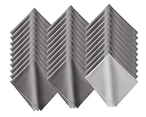 Grey MicroFiber Cloth - 2 pack -