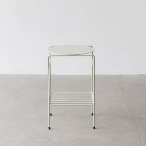 Mesa lateral O.U - Off white