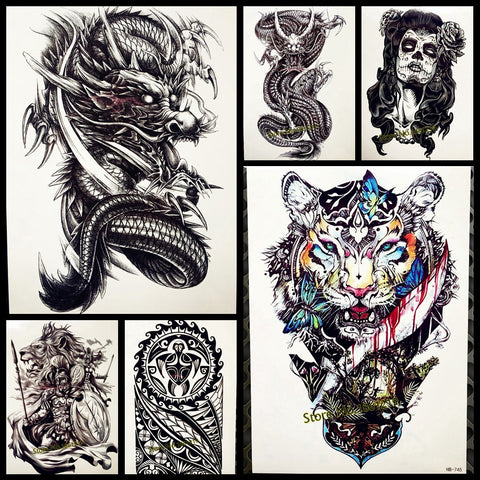 1PC Sexy Men / Women temporary TATTOO stickers