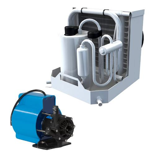 Webasto FCF Platinum Series Air Conditioner Complete System Kit w/KoolAir PM500 Pump &amp Ducting - 6000 BTU/h - 115V