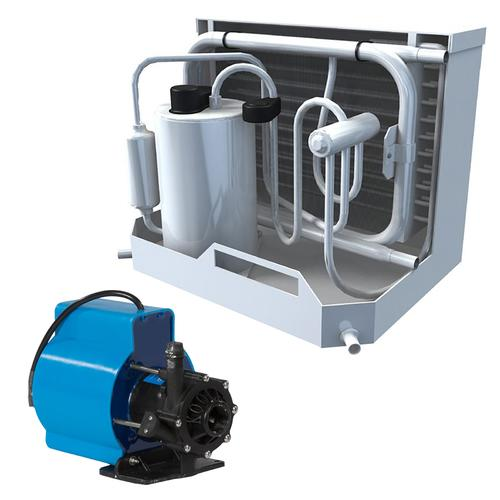 Webasto FCF Platinum Series Air Conditioner Complete System Kit w/KoolAir PM500 Pump &amp Ducting - 10000 BTU/h - 115V