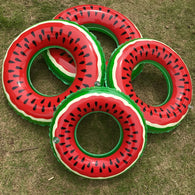 1PC Safely Watermelon Inflatable Adult Children Swimming Ring Inflatable Pool Float Circle For Adult Children