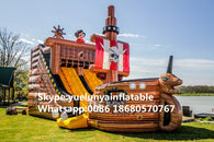 2016 Factory direct sales Inflatable slides,Inflatable castle.Inflatable pirate ship  KY-213