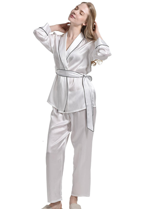a99bbf7176 Pure Silk Sleepwear Silk Nightwear for Men and Women — OOSILK