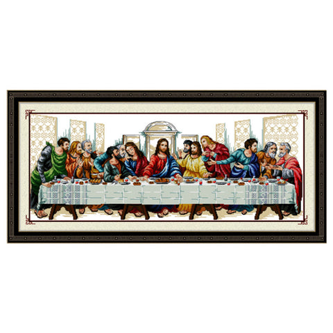 "5D The Last supper diamond artwork Kit - 39.7""x18.9"" - DIY Diamond Art - Artsndecors"