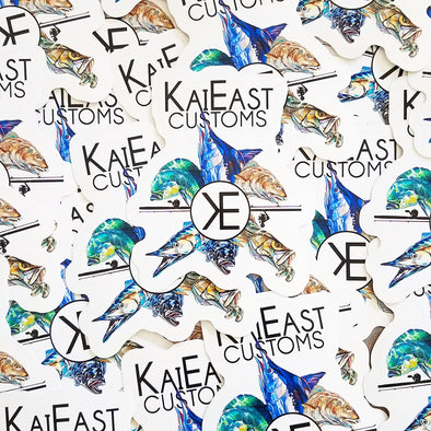 KaiEast Die Cut Sticker