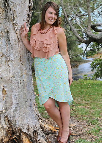 Sew To Grow - Emerson Wrap Skirt