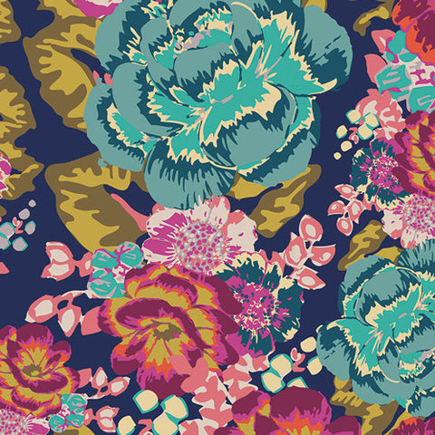 Art Gallery Fabrics - Aqua Di Rose