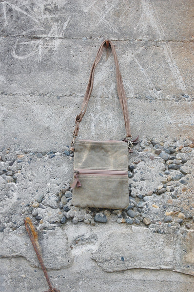 Hipster Admit One Crossbody