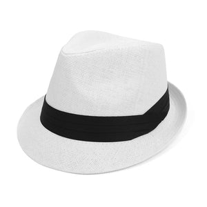 Classic Trilby Fedora with Black Band