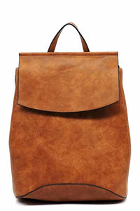 Convertible Backpack - Brown
