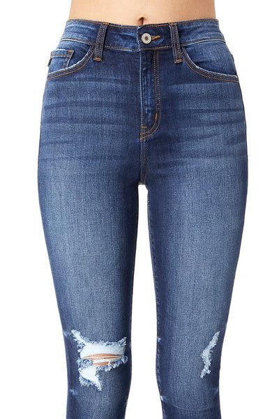 KanCan Light Distressed Skinny