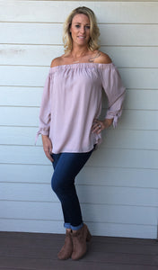Contemporary Off Shoulder Top