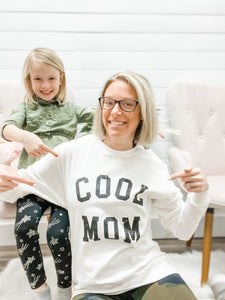 Cool Mom Graphic Sweatshirt