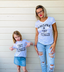 """Tiny Teenager"" Tee"