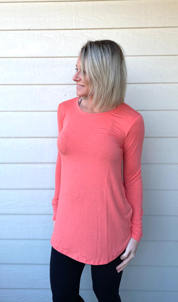 Long Sleeve, Relaxed Fit Top