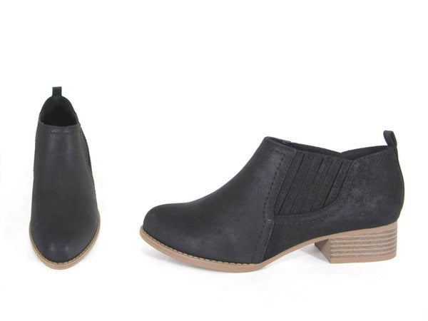 Women's Low Ankle Booties